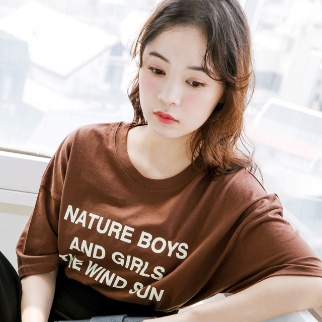 NATURE logo T-shit[462C]