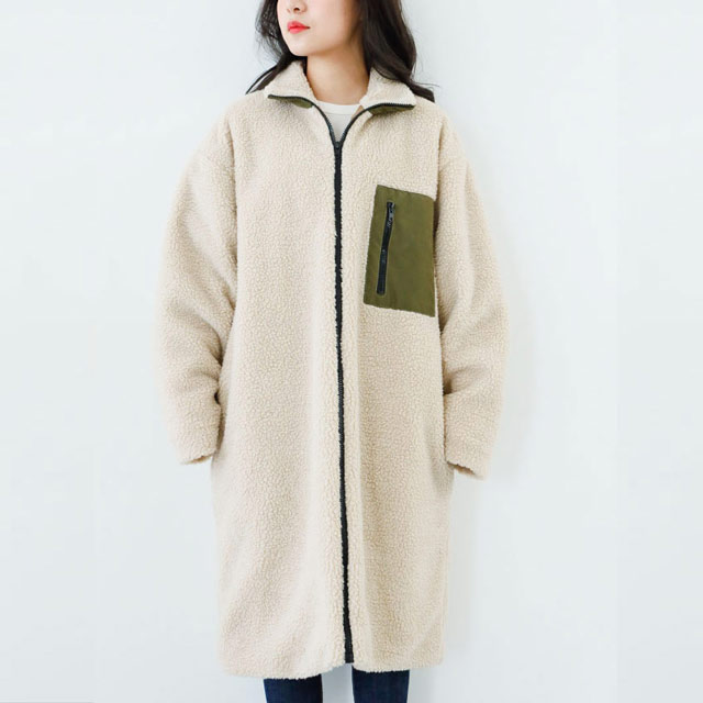 **rinko select**bore long coat[466K]