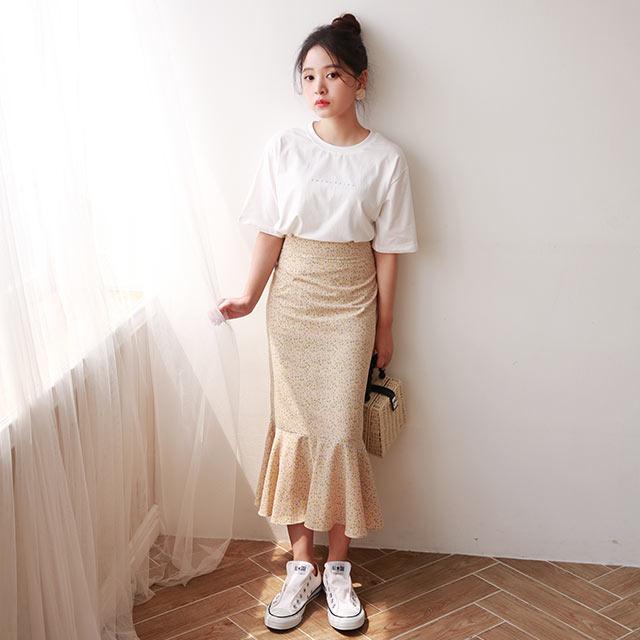 <Summer Sale!!>【yon's select】petite logo t-shirt[4676C]