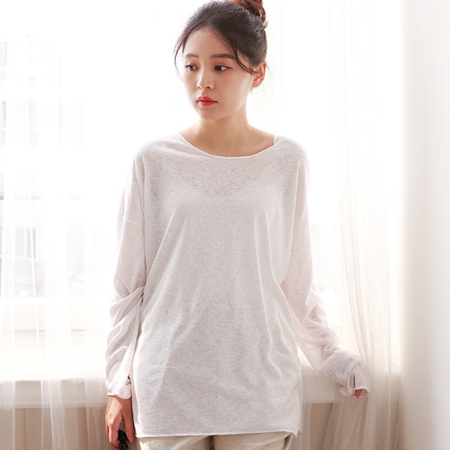 relaxed simple tops[4685C]