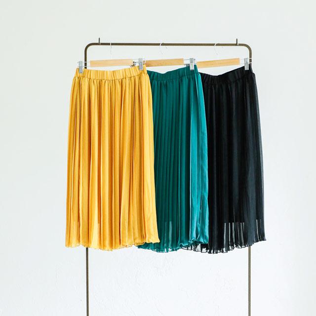 プリーツミディスカート(全3色)[468M]