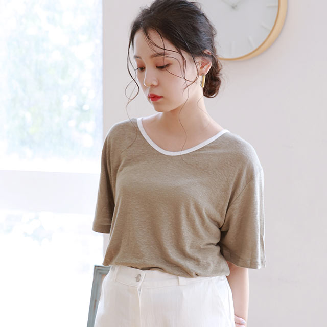 piping point t-shirt[4803C]