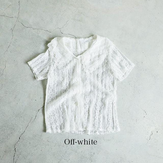<Summer Sale!!>total lace blouse[485C]