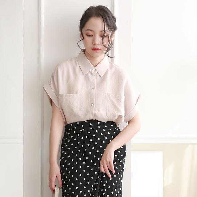 【8/4(tue)19:00〜】half sleeve summer shirt[4861C]