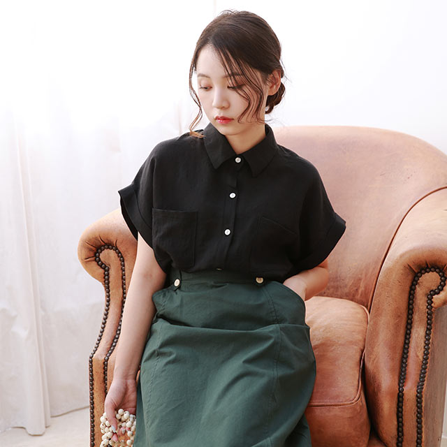 half sleeve summer shirt[4861C]