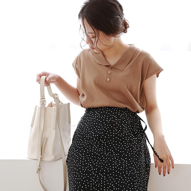 【8/13(thu)19:00〜】summer knit shirt[4874C]