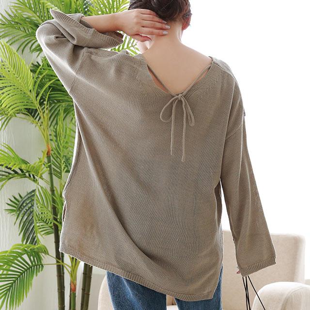 back ribbon knit[4943C]