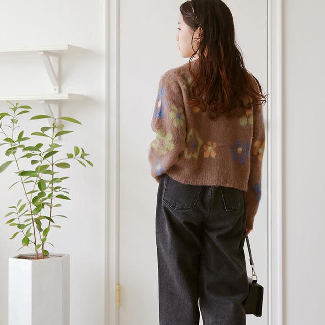 flower point knit[5035C]