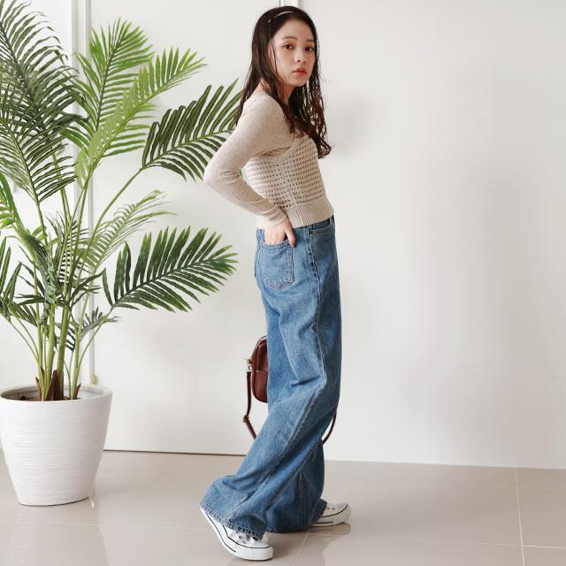 camisole x high neck knit set[5036C]