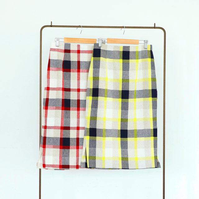 ≪FINAL SALE≫チェック柄タイトスカート(全2色)[508M]