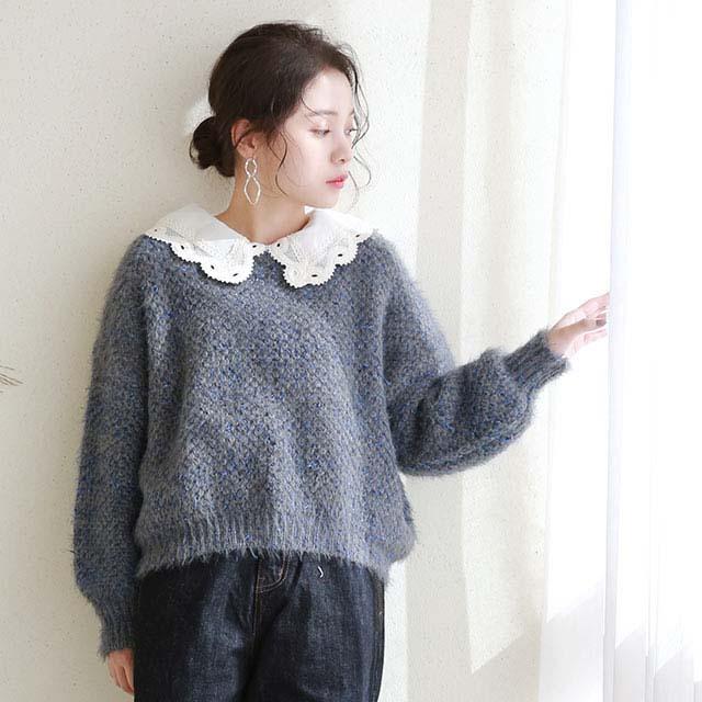 kirakira nuance color knit[5181C]