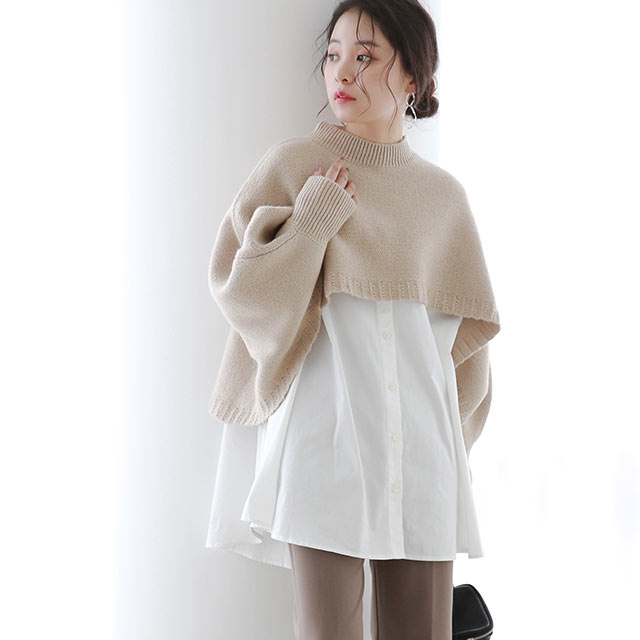 <FINAL SALE>asymmetry design knit[5188C]