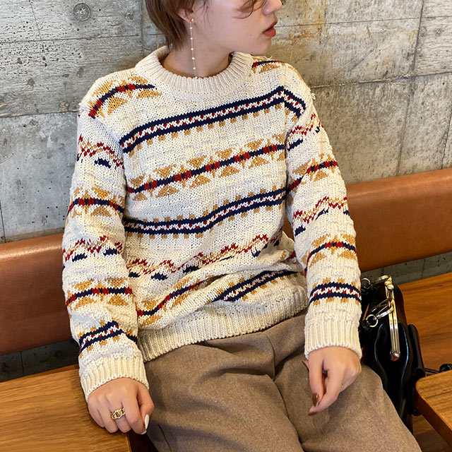【12/3(thu)19:00〜】coloring design knit[5193C]