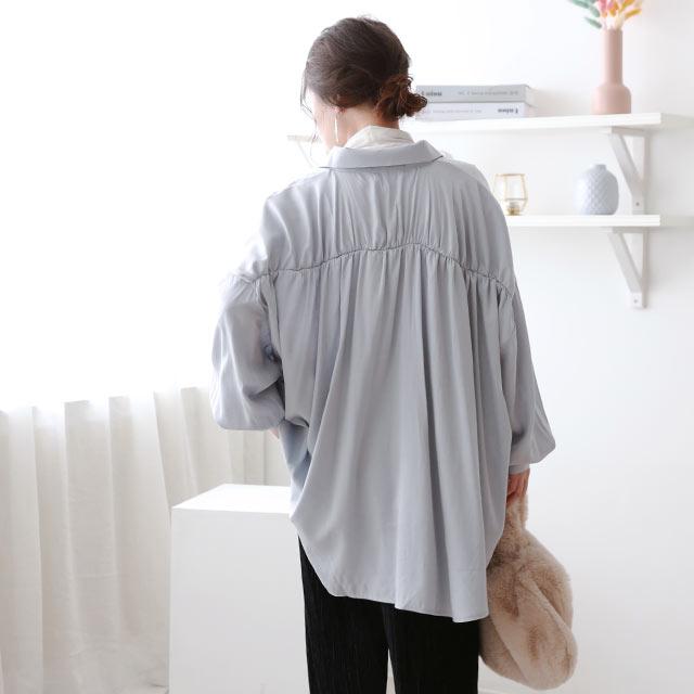 【2/28(sun)19:00〜】over flare shirt[5235C]