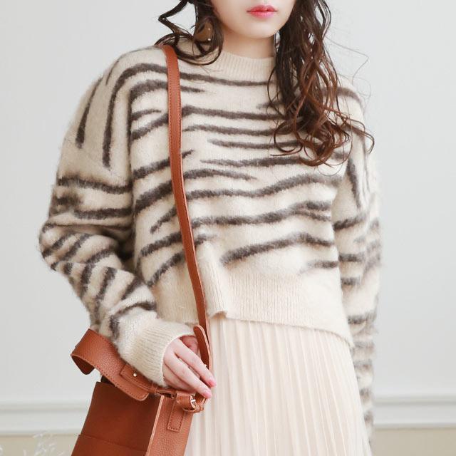 zebra nuance knit[5237C]