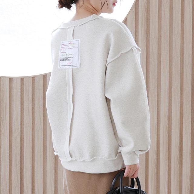 back tag design sweat[5303C]