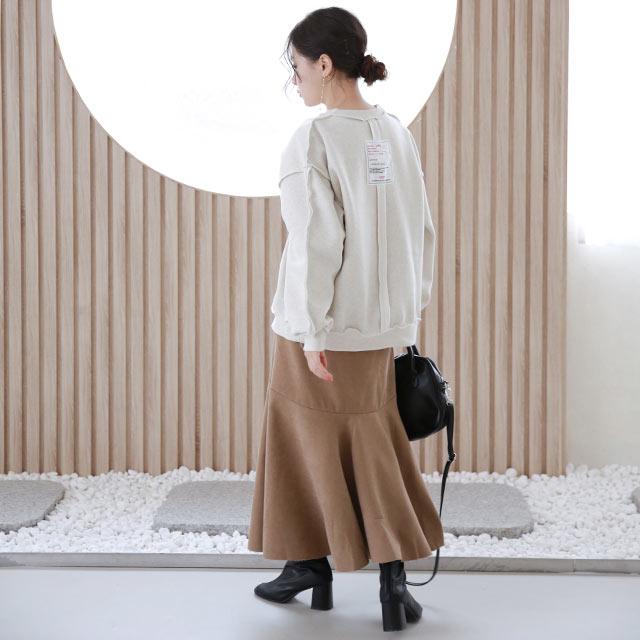 【1/27(wed)19:00〜】back tag design sweat[5303C]