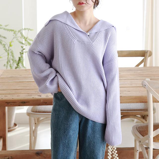 big collar knit[5352C]