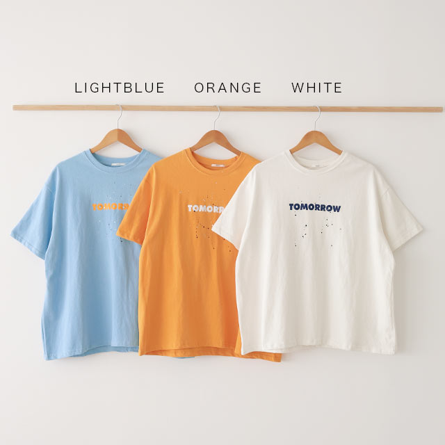 【5/16(sun)19:00〜】トゥモローロゴTシャツ[5414C]