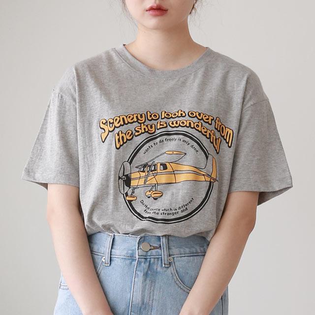 ヘリコプターTシャツ[5547C]
