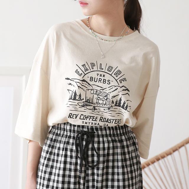 アウトドアTシャツ[5605C]