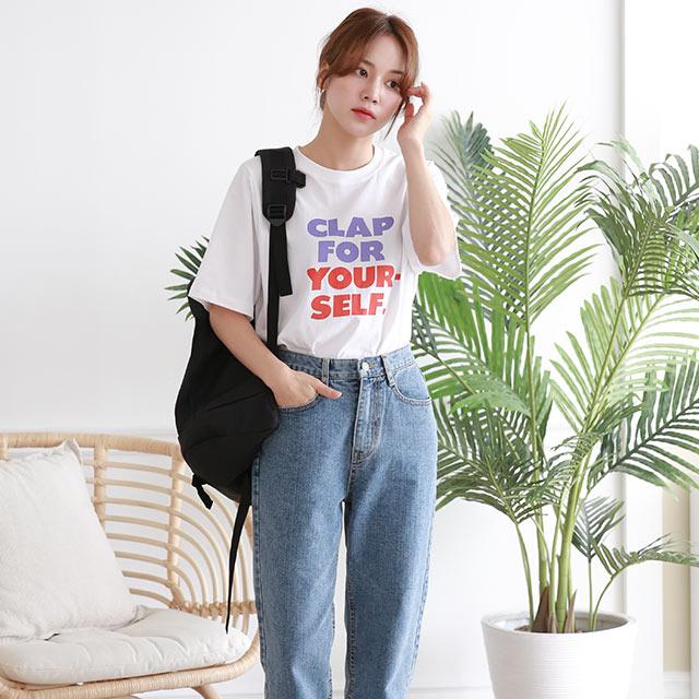 カラフルロゴTシャツ[5620C]