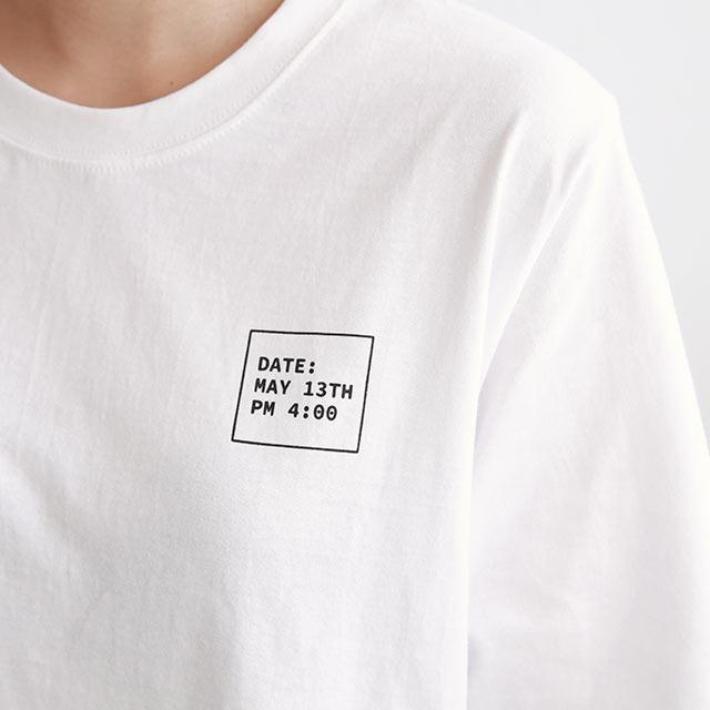 バックポップイラストTシャツ[5622C]