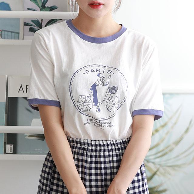 ロゴリンガーTシャツ[5662C]