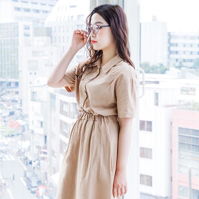 shirt + flare skirt setup[567E]