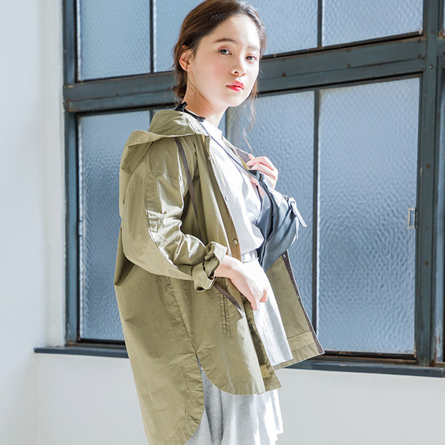 <Spring Sale>big silhouette mountain parka[662K]