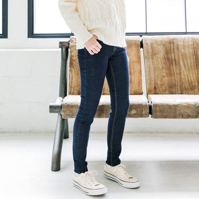 ≪CLEARANCE SALE≫裾切りっぱなしスキニーデニム(全1色)[684M]