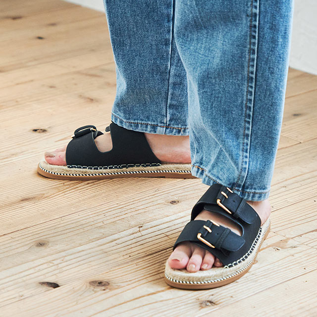 <Summer Sale!!>belt flat sandals[726I]
