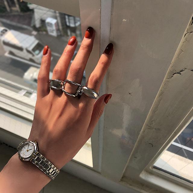 round volume ring[728J]