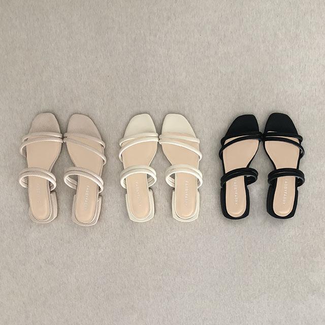 thin strap sandal[731I]