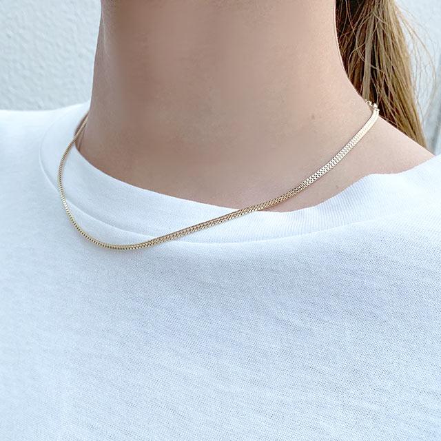 snake chain necklace[739J]