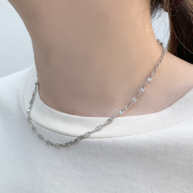 <CLEARANCE SALE>chain necklace[741J]