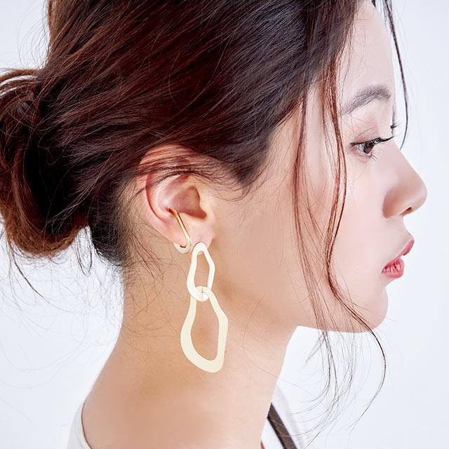 wave ear cuff[743J]