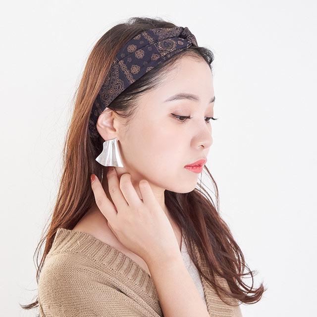 <Final Sale!!>bandana pattern hair band[744J]
