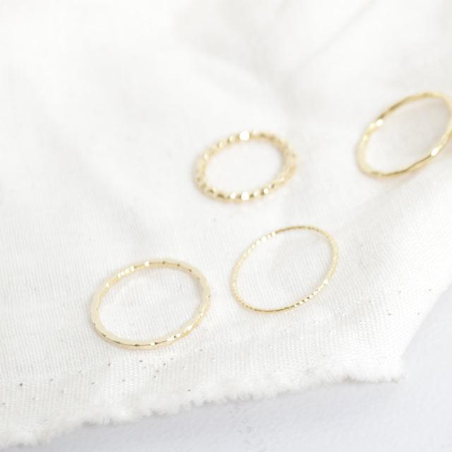 oval set ring[779J]