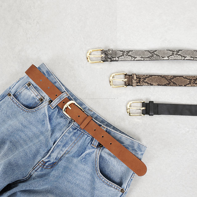 basic thick belt[792J]
