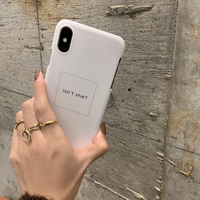 box logo iPhone case[819J]
