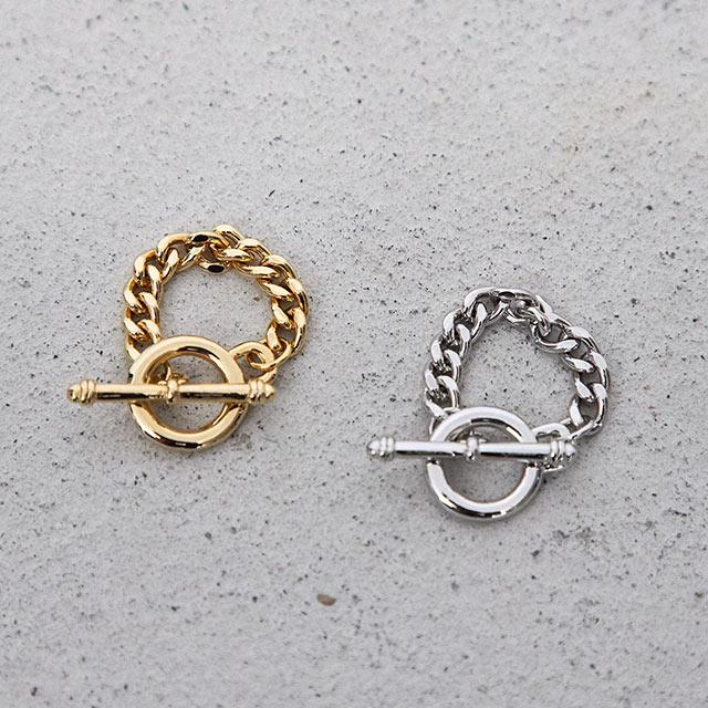 <Summer Sale!!>circle chain ring[821J]