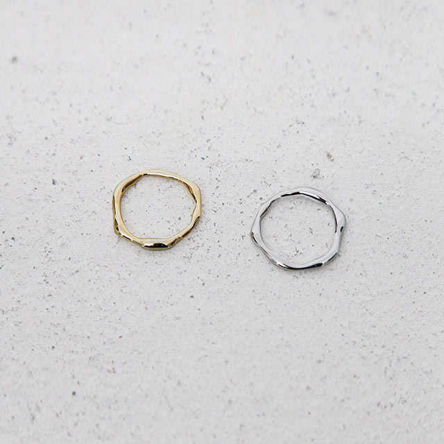 simple twist ring[822J]