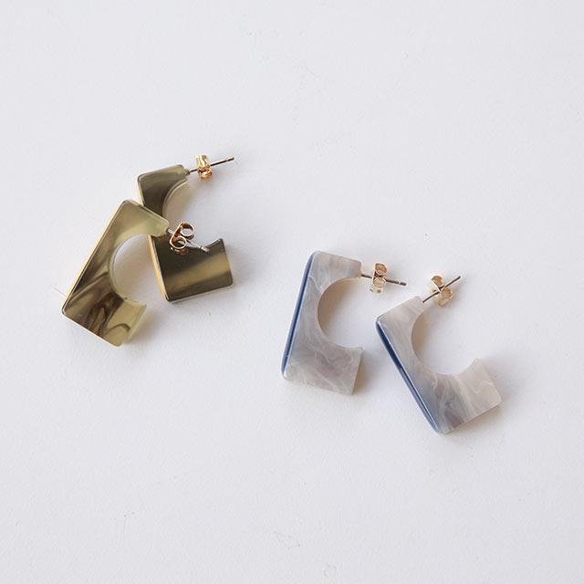 stick motif piasu or earring[870J]