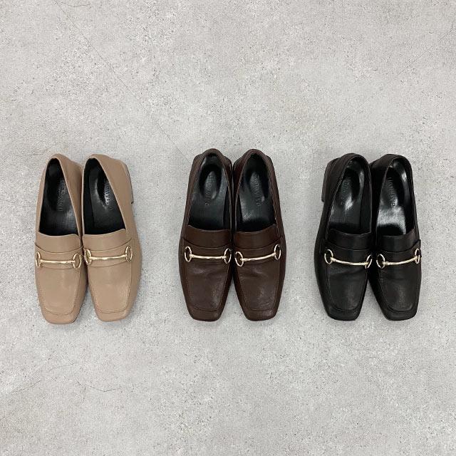 square loafer shoes[872I]