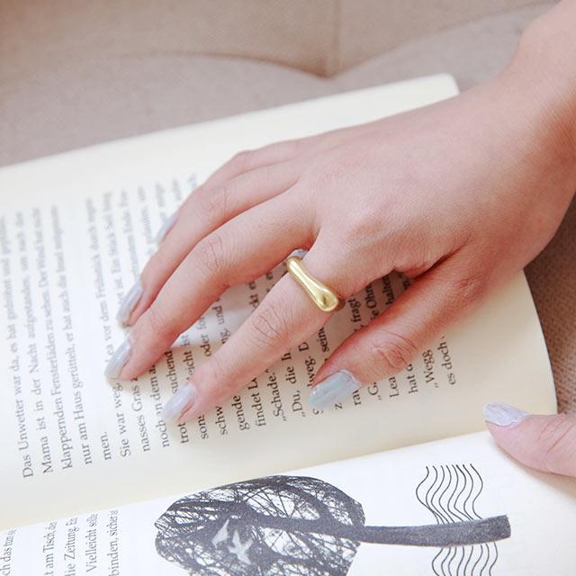 【8/12(wed)19:00〜】silver925 volume ring[875J]