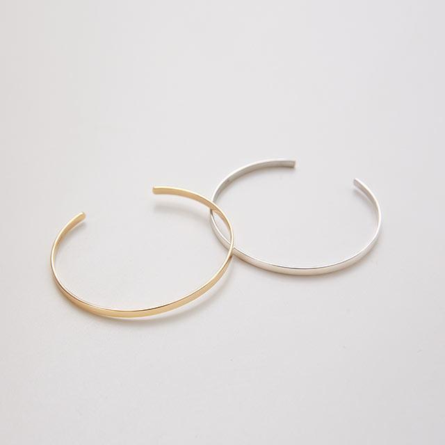 silver925 slim bangle[876J]
