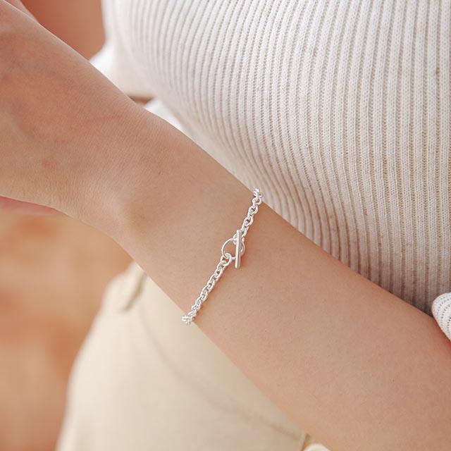 silver925 mantel bracelet[877J]