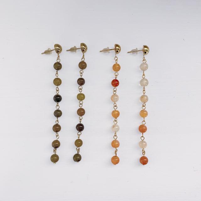 【9/13(sun)19:00〜】colorful beads piasu or earring[881J]
