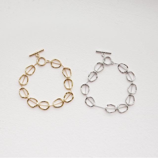 circle chain bracelet[890J]